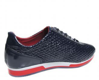 Мъжки обувки  сини 3