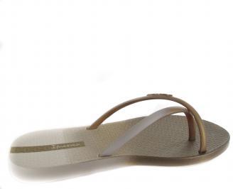 Дамски силиконови чехли Ipanema  златисти 3