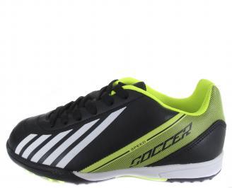 Юношески спортни обувки  черни еко кожа